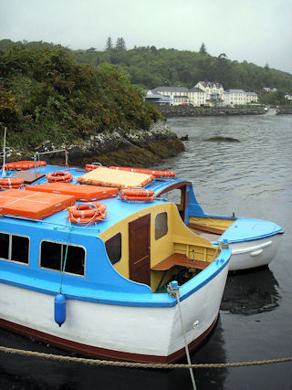 Boats in Glandore Harbour